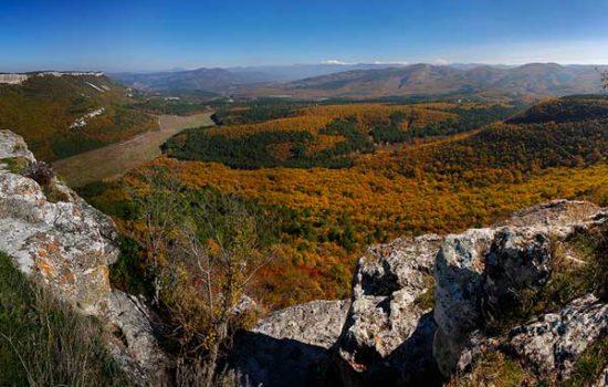 Мангуп Кале фото осенью