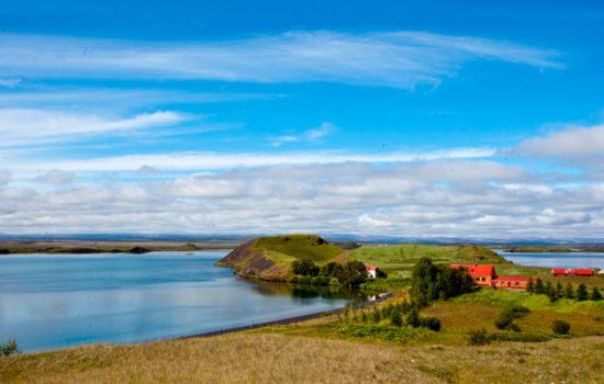 Миватн озеро Исландия