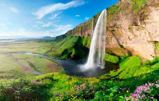 Сельяландсфосс Исландия